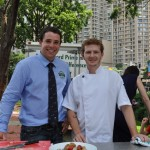 George Morice and Nathan Lakeman, Exec Chef, The Bellevue